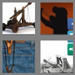 4 pics 1 word 8 letters catapult