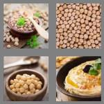 4 pics 1 word 8 letters chickpea