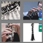 4 pics 1 word 8 letters clarinet