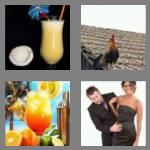4 pics 1 word 8 letters cocktail