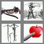 4 pics 1 word 8 letters crossbow