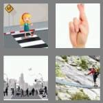 4 pics 1 word 8 letters crossing