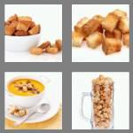 4 pics 1 word 8 letters croutons