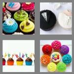 4 pics 1 word 8 letters cupcakes