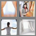 4 pics 1 word 8 letters curtains