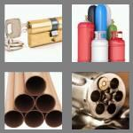 4 pics 1 word 8 letters cylinder