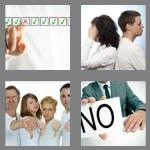 4 pics 1 word 8 letters disagree