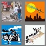 4 pics 1 word 8 letters disaster