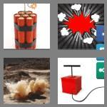 4 pics 1 word 8 letters dynamite