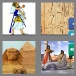 4 pics 1 word 8 letters egyptian