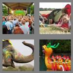 4 pics 1 word 8 letters festival