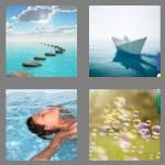 4 pics 1 word 8 letters floating
