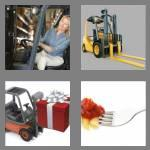 4 pics 1 word 8 letters forklift