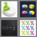 4 pics 1 word 8 letters fraction