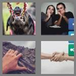 4 pics 1 word 8 letters gripping