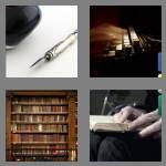 4 pics 1 word 8 letters literary