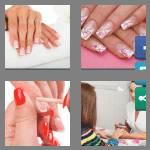 4 pics 1 word 8 letters manicure