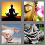 4 pics 1 word 8 letters meditate