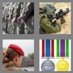 4 pics 1 word 8 letters military