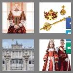 4 pics 1 word 8 letters monarchy