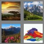 4 pics 1 word 8 letters mountain