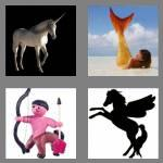 4 pics 1 word 8 letters mythical