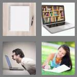 4 pics 1 word 8 letters notebook