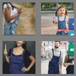 4 pics 1 word 8 letters overalls