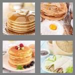 4 pics 1 word 8 letters pancakes
