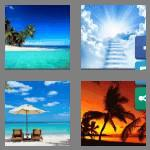 4 pics 1 word 8 letters paradise
