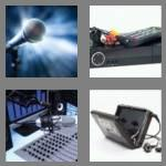 4 pics 1 word 8 letters recorder