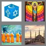 4 pics 1 word 8 letters religion