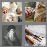 4 pics 1 word 8 letters sculptor