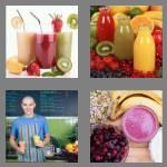 4 pics 1 word 8 letters smoothie