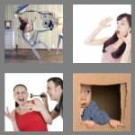 4 pics 1 word 8 letters startled