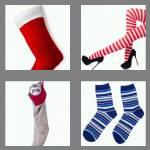4 pics 1 word 8 letters stocking