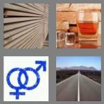 4 pics 1 word 8 letters straight