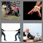 4 pics 1 word 8 letters struggle