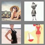 4 pics 1 word 8 letters swimsuit