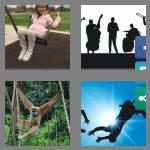 4 pics 1 word 8 letters swinging