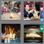 4 pics 1 word 8 letters toasting