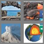 4 pics 1 word 8 letters volcanic