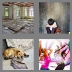 4 pics 1 word 9 letters abandoned