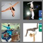 4 pics 1 word 9 letters acrobatic