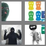 4 pics 1 word 9 letters balaclava