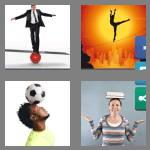 4 pics 1 word 9 letters balancing