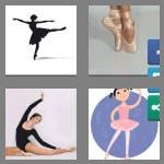 4 pics 1 word 9 letters ballerina