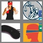 4 pics 1 word 9 letters blindfold