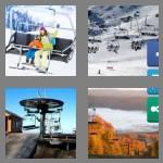 4 pics 1 word 9 letters chairlift