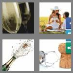 4 pics 1 word 9 letters champagne